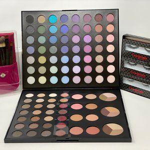 3PC kit for EYES-eyeshadow palette/lashes/brushes